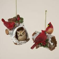 club pack of 12 flocked cardinal bird decorative