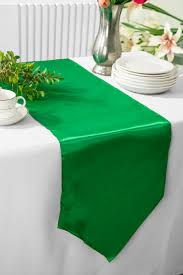 emerald green table runners emerald satin table runners wholesale