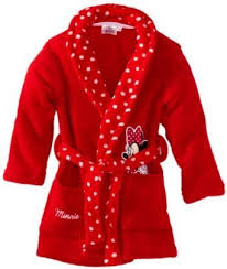 robe de chambre minnie disney peignoir minnie pour fille 8 ans amazon fr