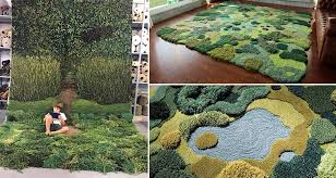 Moss Rug Bring A Part Of The Outdoors Into Your Home With These Crazy Moss