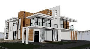sketchup texture free sketchup model modern villa 45 and vray visopt