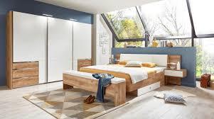 Schlafzimmer Deko Poco Bettanlage Coimbra Plankeneiche Nb Weiß 180 Cm U0026 9654 Online Bei