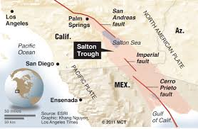 Earthquake Los Angeles Map by Authorities Warn Of Risk Of Major Earthquake In Southern