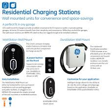 build your own ev charging station ge ev charger indoor outdoor level 2 durastation wall mount with