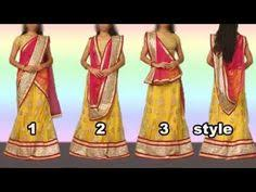 How To Drape A Gujarati Style Saree How To Wear Lehenga Saree To Look Slim Step By Step U2013 5 Gorgeous