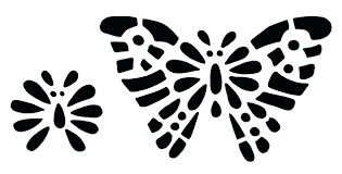 butterfly template printable a4 pdf stencil designs free coloring