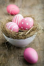 pink easter eggs easter decor in pink and purple tinker 60 cool decorating ideas