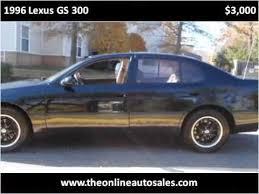 1996 lexus gs300 1996 lexus gs 300 used cars manassas va