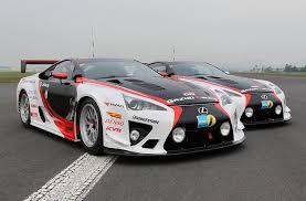 lexus lfa racing production derived lexus lfa preparing for nurburgring 24h race
