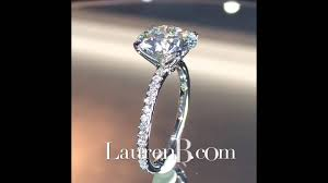 3 carat diamond engagement ring 3 carat diamond engagement ring in micropave band