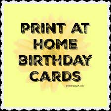 print send a birthday card get a smile forever green