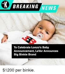 Baby Announcement Meme - breaking news the to celebrate lonzo s baby announcement lavar