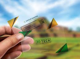 Plastic Business Cards Los Angeles 23 Awesome Transparent Business Card Designs Designinstance