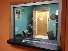 Security Front Desk Bullet Glass Window Area Glass Wisconsin