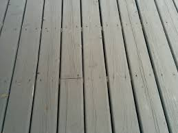 do i get away with the wrong screws and holes on a deck if the