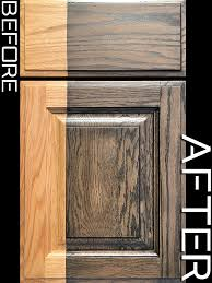 can you stain oak cabinets grey sles magnifico cabrehab finish refinish remodel