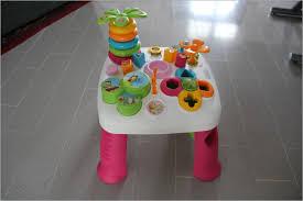 siege gonflable smoby table d eveil avec siege 357159 test et montage de la table d
