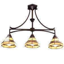 oil rubbed bronze light fixtures great stained glass island lighting fixtures hton bay addison 3