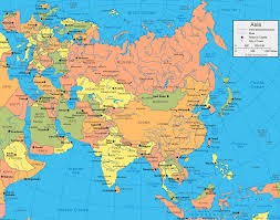 Europe Middle East Map by Download Asia And Europe Map Major Tourist Attractions Maps