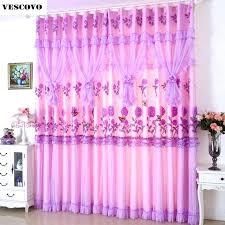 Pink And Purple Curtains Purple Lace Curtains U2013 Yoryor Me