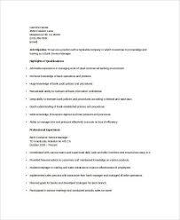 24 professional banking resumes free u0026 premium templates