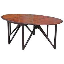 rosewood dining room furniture kurt ostervig gateleg rosewood dining table at 1stdibs