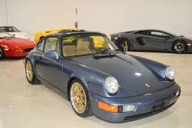 1990 Porsche 964 911 Rare Baltic Blue Metallic Real Muscle