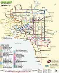 melbourne tram map tram map 2048 melbourne maps charts history