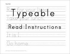 awesome handwriting practice fourth grade writing pinterest