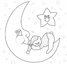 moon crescent 21 nature u2013 printable coloring pages