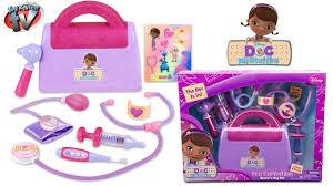doc mcstuffins doctors kit bag playset toy review disney junior