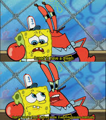 mr krabs with the real life advice spongebob