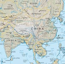 Physical Maps Map Of China Physical Map Worldofmaps Net Online Maps And