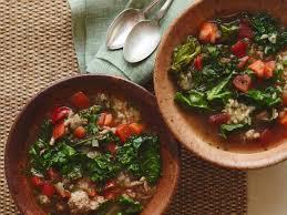 turkey kale and brown rice soup recipe giada de laurentiis