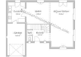 plan de maison avec 4 chambres dessiner un plan de maison plans maisons individuelles avec 4