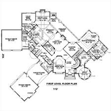 Manor House Floor Plan Miles Avery Manor 8166 4 Bedrooms And 3 Baths The House Designers