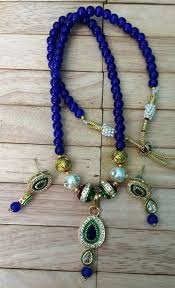 necklace set blue stone images Buy imitation jewellery red stone with golden touch necklace set jpg
