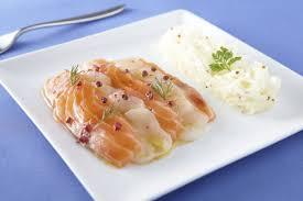 cuisiner radis blanc marinade de saumon et jacques radis blanc en rémoulade à la