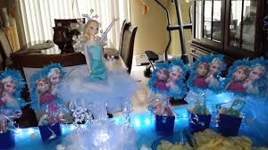 frozen party frozen party ideas