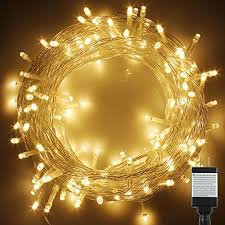 Fairy Lights Amazon Pms 300 Led String Fairy Lights On Clear Cable With 8 Light