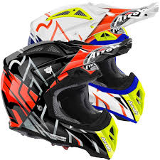 orange motocross helmet airoh aviator 2 2 styling motocross helmet buy cheap fc moto