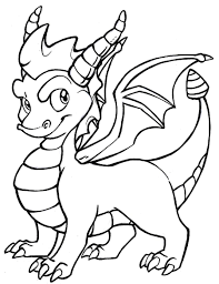 free coloring dragon