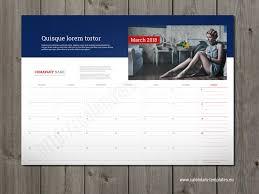 bureau personnalisé calendrier bureau personnalisé impressionnant 2018 mensuel mural ou