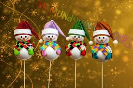 muñeco de nieve hecho con goma eva fofuchas pinterest foam