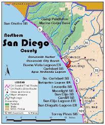 california map carlsbad california coastal trail