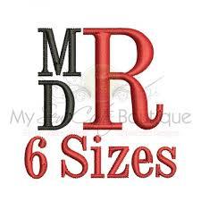 stacked monogram stacked monogram font stacked monogram machine embroidery