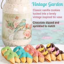 cookie gift vintage garden fortune cookies fortune cookie gifts edible