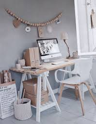 bureau traiteau mon nouveau bureau inspiration scandinave diy