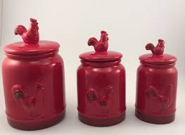 100 rooster kitchen canisters rooster kitchen decor picture