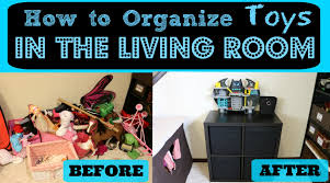 in the livingroom how to organize toys in the living room